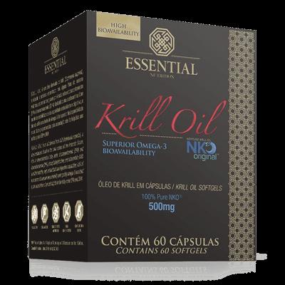 Ficha técnica e caractérísticas do produto Krill Oil 60Cps - Essential Nutrition