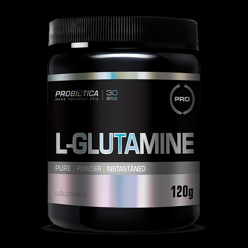 Ficha técnica e caractérísticas do produto L-Glutamina (120g) Probiótica