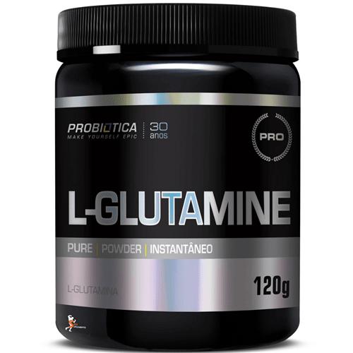 Ficha técnica e caractérísticas do produto L-Glutamine 120G Sem Sabor - Probiótica