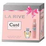 Ficha técnica e caractérísticas do produto La Rive Cuté Kit - Eau de Parfum + Desodorante Kit