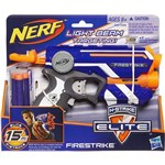 Ficha técnica e caractérísticas do produto Lança Dardo Nerf El Firestrike - Hasbro A0709