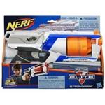 Ficha técnica e caractérísticas do produto Lançador Nerf S Strike Elite Strongarm - A0710 - Hasbro