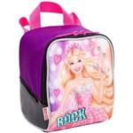 Ficha técnica e caractérísticas do produto Lancheira Barbie Rock N Royals Roxo - Sestini
