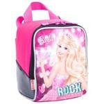 Ficha técnica e caractérísticas do produto Lancheira Barbie Rock Royal Rosa Sestini