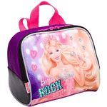 Ficha técnica e caractérísticas do produto Lancheira Grande Barbie Rock In Royals Roxo - Sestini