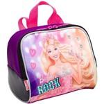 Ficha técnica e caractérísticas do produto Lancheira Grande Barbie Rock N Royals Roxo - Sestini