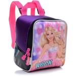 Ficha técnica e caractérísticas do produto Lancheira Infantil Sestini Rock N Royals Roxa Barbie