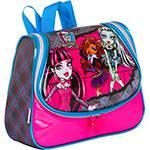 Lancheira Monster High Xadrez e Rosa - Sestini