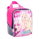 Ficha técnica e caractérísticas do produto Lancheira Sestini Barbie Rock N Royals 3L - Rosa