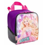 Ficha técnica e caractérísticas do produto Lancheira Soft com Acessórios Barbie Rock'n Royals Roxa 64350-08 - Sestini