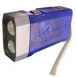 Lanterna Key West de Pressionar Automática - Azul/Cinza