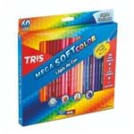 Ficha técnica e caractérísticas do produto Lapis de Cor 60 Cores Tris Mega Soft Color + Apontador (Tris)