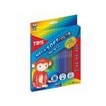 Ficha técnica e caractérísticas do produto Lápis de Cor Mega Soft Color - 24 Cores