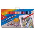 Ficha técnica e caractérísticas do produto Lapis de Cor Mega Soft Colorido 72 Cores 687247 - Summit