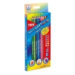 Ficha técnica e caractérísticas do produto Lápis de Cor Tris Mega Soft Color 12 Cores