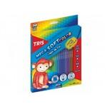 Ficha técnica e caractérísticas do produto LÁPIS de Cor Tris Mega Soft Color 24 Cores + 1 Apontador Conjunto