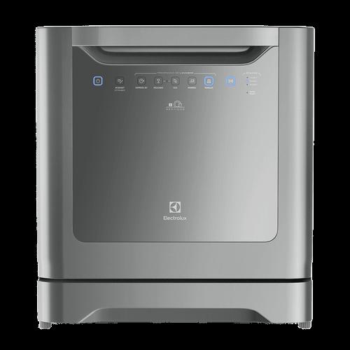 Ficha técnica e caractérísticas do produto Lava-Louças Electrolux 8 Serviços Cinza (LE08S) 127V