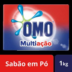 Ficha técnica e caractérísticas do produto Lava Roupas em Pó Omo Multiação 1kg