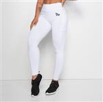Ficha técnica e caractérísticas do produto Legging Fitness HB com Bolso Branca LG1198