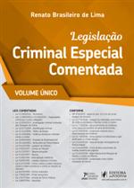 Ficha técnica e caractérísticas do produto Legislação Criminal Especial Comentada (2019) - Volume Único