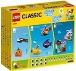 Ficha técnica e caractérísticas do produto LEGO Classic - 451 Peças e Olhos