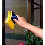 Ficha técnica e caractérísticas do produto Limpa Vidro com Imã Magnético Super Rodo
