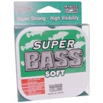 Linha de Pesca Super Bass Green 0.37mm 250m Marine Sports