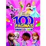 Ficha técnica e caractérísticas do produto Livro - 100 Paginas para Colorir Meninas