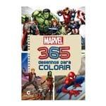 Ficha técnica e caractérísticas do produto Livro 365 Desenhos para Colorir Marvel