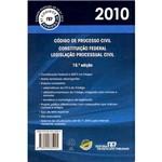 Ficha técnica e caractérísticas do produto Livro - Código de Processo Civil 2010