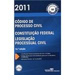 Ficha técnica e caractérísticas do produto Livro - Código de Processo Civil 2011
