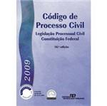 Ficha técnica e caractérísticas do produto Livro - Código de Processo Civil