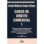 Ficha técnica e caractérísticas do produto Livro - Curso de Direito Comercial 1
