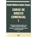 Ficha técnica e caractérísticas do produto Livro - Curso de Direito Comercial - Volume 1