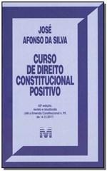 Ficha técnica e caractérísticas do produto Livro - Curso de Direito Constitucional Positivo - 42 Ed./2019