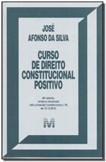 Ficha técnica e caractérísticas do produto Livro - Curso de Direito Constitucional Positivo - 40 Ed./2017