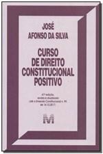 Ficha técnica e caractérísticas do produto Livro - Curso de Direito Constitucional Positivo - 41 Ed./2018