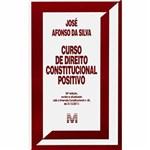 Ficha técnica e caractérísticas do produto Livro - Curso de Direito Constitucional Positivo