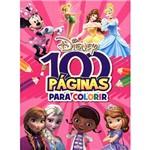 Livro - Disney 100 Páginas para Colorir
