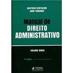Ficha técnica e caractérísticas do produto Livro - Manual de Direito Administrativo: Volume Único