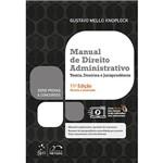 Ficha técnica e caractérísticas do produto Livro - Manual de Direito Administrativo