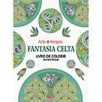 Livro para Colorir Adulto - Fantasia Celta