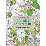 Livro para Colorir Adulto - Jardim Encantado 1ª Edição