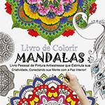 Livro para Colorir - Mandalas - 1ª Edição