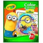 Ficha técnica e caractérísticas do produto Livro para Colorir Minions Crayola