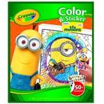 Ficha técnica e caractérísticas do produto Livro para Colorir - Minions - Crayola