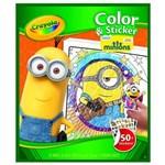 Ficha técnica e caractérísticas do produto Livro para Colorir Minions - Crayola