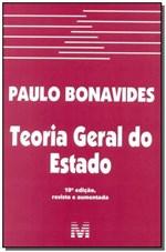 Ficha técnica e caractérísticas do produto Livro - Teoria Geral do Estado - 10 Ed./2015