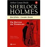 Livro - um Estudo em Vermelho - Coleção Sherlock Holmes - Vol. 8