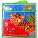 Livro - um Livro com Cubos Quebra-cabeça: Filhotes Amigos - Todolivro - Le Brinque